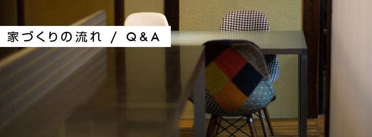 イロハ設計室 家づくりの流れ Q&A(よくある質問)